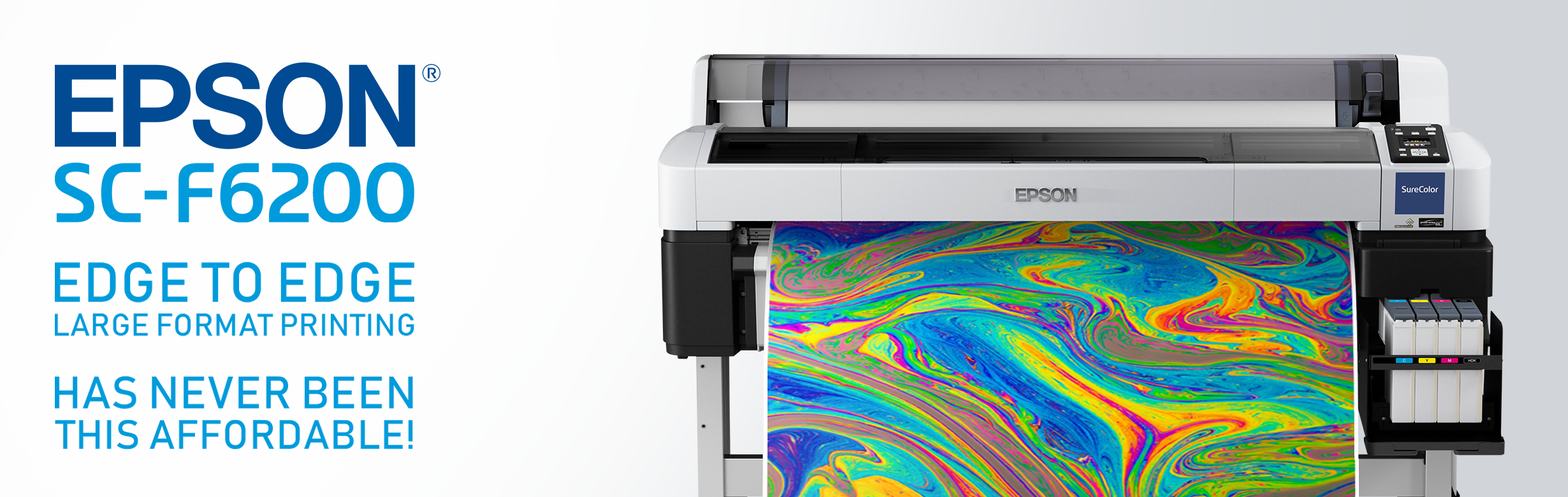 Large format printing with Epson SureColor SC-F6200